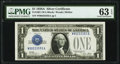 Fr. 1601 $1 1928A Silver Certificate. PMG Choice Uncirculated 63 EPQ
