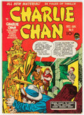 Golden Age (1938-1955):Crime, Charlie Chan #4 (Crestwood/Headline, 1949) Condition: FN....