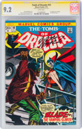 Bronze Age (1970-1979):Horror, Tomb of Dracula #10 Signature Series: Marv Wolfman (Marvel, 1973) CGC NM- 9.2 White pages....