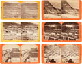 Photography:Stereo Cards, Early Nevada: Six Scarce c.1860's-1870's Stereoviews....