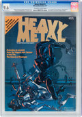 Heavy Metal #1 (HM Communications, 1977) CGC NM+ 9.6 Off-white to white pages