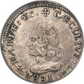 (1659) 6PENCE Lord Baltimore Sixpence XF45 PCGS. Hodder 2-C, W-1060, R.5....(PCGS# 33)