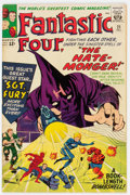 Silver Age (1956-1969):Superhero, Fantastic Four #21 (Marvel, 1963) Condition: FN+....