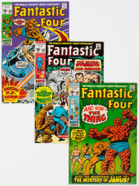 Fantastic Four Group of 6 (Marvel, 1970-82) Condition: Average VF.... (Total: 6 Comic Books)