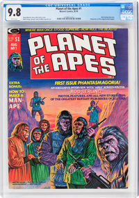 Planet of the Apes #1 (Marvel, 1974) CGC NM/MT 9.8 White pages