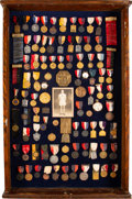 Miscellaneous Collectibles:General, 1924 Paris Summer Olympics Gold Medal & Many More Awards f...