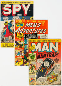 Golden Age Adventure Comics Group of 6 (Various Publishers, 1950s) Condition: Average VG-.... (Total: 6)