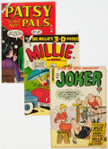 Golden Age (1938-1955):Miscellaneous, Timely/Atlas Humor Comics Group of 5 (Timely/Atlas, 1950s) Condition: Average VG-.... (Total: 5 Comic Books)