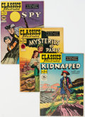 Golden Age (1938-1955):Classics Illustrated, Classics Illustrated Group of 5 (Gilberton, 1947-50) Condition: Average FN.... (Total: 5 Comic Books)