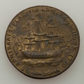 Colonials, 1779 Token Rhode Island Ship Token, Wreath Below, Brass, XF Details Uncertified. Betts-53, W-1740, R.3. NGC notes active co...