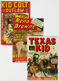 Golden Age Western Comics Group of 12 (Various Publishers, 1950s) Condition: Average VG-.... (Total: 12)