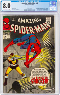 The Amazing Spider-Man #46 (Marvel, 1967) CGC VF 8.0 Off-white to white pages