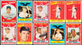 Baseball Cards:Lots, 1958 & 1959 Topps Baseball Collection (36) With Stars and 23 High Numbers. ...