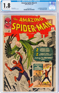 The Amazing Spider-Man #2 (Marvel, 1963) CGC GD- 1.8 Off-white to white pages