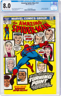 The Amazing Spider-Man #121 (Marvel, 1973) CGC VF 8.0 Off-white to white pages