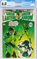 Bronze Age (1970-1979):Superhero, Green Lantern #76 (DC, 1970) CGC FN 6.0 Off-white to white pages....