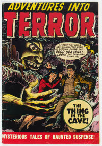 Adventures Into Terror #43 (#1) (Atlas, 1950) Condition: VG/FN