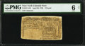 Colonial Notes:New York, New York April 20, 1756 £2 PMG Good 6 Net.. ...