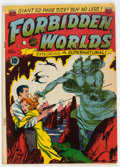 Golden Age (1938-1955):Science Fiction, Forbidden Worlds #1 (ACG, 1951) Condition: VG-....