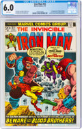 Bronze Age (1970-1979):Superhero, Iron Man #55 (Marvel, 1973) CGC FN 6.0 White pages....
