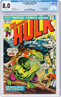 The Incredible Hulk #180 (Marvel, 1974) CGC VF 8.0 White pages