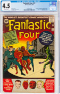 Silver Age (1956-1969):Superhero, Fantastic Four #11 (Marvel, 1963) CGC VG+ 4.5 Off-white pages....
