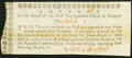 Obsoletes By State:Rhode Island, Newport, RI- First Congregational Church May, 1784 Lottery Ticket Extremely Fine.. ...
