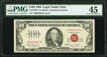 Small Size:Legal Tender Notes, Fr. 1550* $100 1966 Legal Tender Star Note. PMG Choice Extremely Fine 45.. ...
