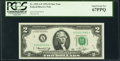 Small Size:Federal Reserve Notes, Fr. 1935-A* $2 1976 Federal Reserve Star Note. PCGS Superb Gem New 67PPQ.. ...