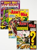 Silver Age (1956-1969):War, Our Army at War Group of 6 (DC, 1965-74).... (Total: 6 )