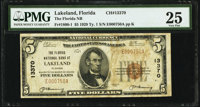 Lakeland, FL - $5 1929 Ty. 1 The Florida National Bank Ch. # 13370 PMG Very Fine 25