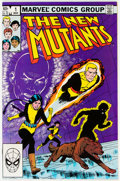 Modern Age (1980-Present):Superhero, The New Mutants #1 Group of 14 (Marvel, 1983) Condition: Average NM-.... (Total: 14 )