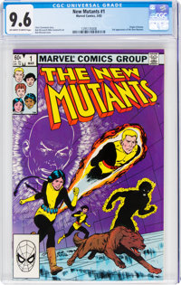 The New Mutants #1 (Marvel, 1983) CGC NM+ 9.6 Off-white to white pages
