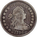 Early Half Dollars, 1796 50C 15 Stars, O-101, T-1, Amato-166, R.5 -- Repaired -- PCGS Genuine. VG Details....