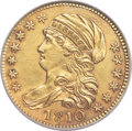1810 $5 Large Date, Large 5, BD-4, R.2 -- Repaired, Cleaned -- NCS. AU Details....(PCGS# 507598)