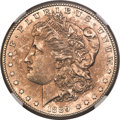 Morgan Dollars, 1889-CC $1 -- Cleaned -- NGC Details. Unc....