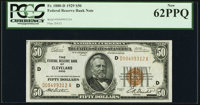 Fr. 1880-D $50 1929 Federal Reserve Bank Note. PCGS New 62PPQ