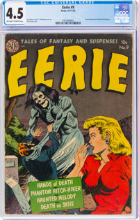 Eerie #9 (Avon, 1952) CGC VG+ 4.5 Off-white to white pages