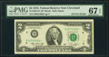 Fr. 1935-D* $2 1976 Federal Reserve Star Note. PMG Superb Gem Unc 67 EPQ