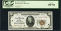 Small Size:Federal Reserve Bank Notes, Fr. 1870-A $20 1929 Federal Reserve Bank Note. PCGS Gem New 65PPQ.. ...