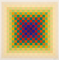 Prints & Multiples, Hugo Demarco (1932-1995). 271, c. 1970. Screenprint in colors on paper. 32 x 32 inches (81.3 x 81.3 cm) (sheet). Ed. 17/...
