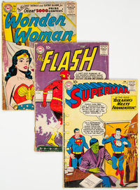 DC Silver Age Group of 11 (DC, 1956-64) Condition: Average GD-.... (Total: 11 )