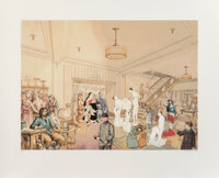 Peter Blake (b. 1932) Demonstrations in a Department Store I, 1998 Screenprint in colors on Somerset