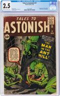 Silver Age (1956-1969):Superhero, Tales to Astonish #27 (Marvel, 1962) CGC GD+ 2.5 Cream to off-white pages....