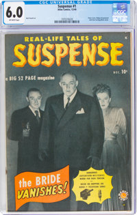 Suspense #1 (Atlas, 1949) CGC FN 6.0 Off-white pages
