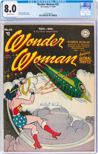 Wonder Woman #32 (DC, 1948) CGC VF 8.0 Off-white pages