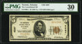 National Bank Notes:Arizona, Tucson, AZ - $5 1929 Ty. 1 The Consolidated National Bank Ch. # 4287 PMG Very Fine 30.. ...