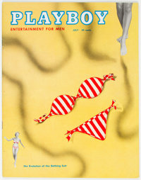 Playboy #8 (HMH Publishing, 1954) Condition: VF-