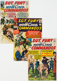 Sgt. Fury and His Howling Commandos #2-5 Group (Marvel, 1963-64) Condition: Average VG-.... (Total: 4)