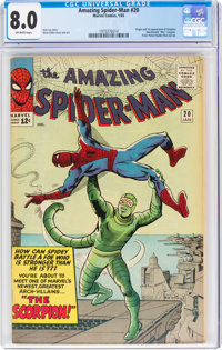 The Amazing Spider-Man #20 (Marvel, 1965) CGC VF 8.0 Off-white pages